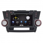 Joyous 2-Din Car Stereo DVD Player w/ GPS, Analog TV, BT, Radio for Toyota Highlander 2007-2011
