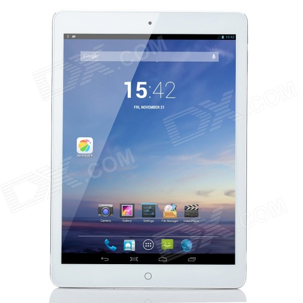 VOYO X1 Quad Core Android 4.2. 9.7 IPS Bluetooth GPS 3G Tablet PC w/ 1GB RAM, 32GB ROM - White sosoon x88 quad core 8 ips android 4 4 tablet pc w 1gb ram 8gb rom hdmi gps bluetooth white