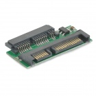 "1.8"" Micro SATA 16-Pin to 2.5"" SATA 22-Pin HDD Adapter Card - Green + Black"