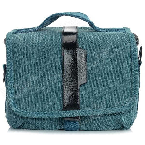 ZAP Universal Portable Canvas Carrying Bag for Camera / DSLR - Blue
