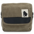 ZAP Universal Stylish Canvas Carrying Bag for Camera / DSLR - Khaki