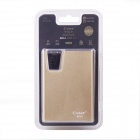 "Cager B030-4B ""10000mAh"" Li-polimeri batteria Smart Power Bank w / Dual LED / Card Reader - Golden"