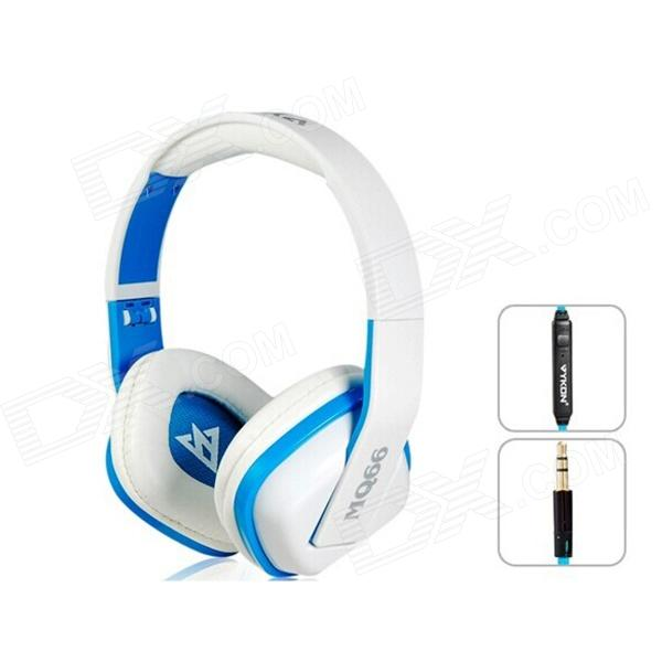 OVLENG A1 Superb 3.5 mm On-ear Headphones with Microphone & 1.2 m Cable (White & Blue) наушники накладные beats ep on ear headphones white ml9a2ze a