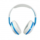 OVLENG A1 Superb 3.5 mm On-ear Headphones with Microphone & 1.2 m Cable (White & Blue)