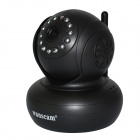 "WANSCAM HW0021 1/4"" CMOS 1.0MP Indoor IP Camera w/ 13-IR-LED / Wi-Fi / IR-CUT / TF - Black (AU Plug)"