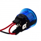 MaiTech DC12~14V 20A 2-pin Rocker Switch - Blue + Black