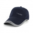 Fashionable Four Seasons Casual Cotton Cap - Dark Blue