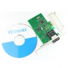 Winyao WY100FX-SC PCI-E X1 100Mbps valokaapeliverkko Card-Green