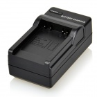 DSTE NB-6L +DC23 3.7V 1700mAh 2-Slot Li-ion Battery Charging Dock for Canon - Grey