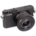 Genuine Panasonic LUMIX DMC-GM1KK Compact System Camera with 12-32mm Black Lens Kit - Black