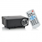 BarcoMAX XP7S Mini US Plug Home Theater Projector - Black