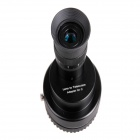 Lens to Telescope Adapter for Canon, Nikon, Sony & Other Automatic / Manual Lenses - Black