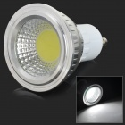 GU10 3W 250lm 7000K COB White Light Spotlight - White + Silvery Grey + Multi-Color (AC 85~265V)