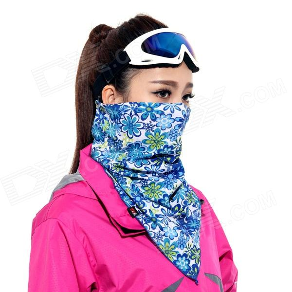 Wild color VC1403 Outdoor Cycling Face Mask / Neck Scarf - Light Blue + Blue + Multi-Colored