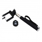 Jtron Bluetooth Remote Shutter for IOS / Android / IPHONE w/ Selfie Monopod Frame - Black