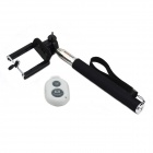 Jtron Bluetooth Remote Shutter for IOS / Android / IPHONE w/ Selfie Monopod Frame - White + Black