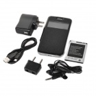 "Mini G9600 Spreadtrum 7715 Android 4,2 WCDMA telefonen med 4.0"" kapasitive, Wi-Fi, Bluetooth - svart"