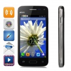 "Mini G9600 Spreadtrum 7715 Android 4.2 WCDMA Bar Phone w/ 4.0"" Capacitive, Wi-Fi, Bluetooth - Black"
