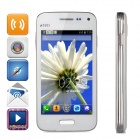 "Mini G9600 Spreadtrum 7715 Android 4.2 WCDMA Bar Phone w/ 4.0"" Capacitive, Wi-Fi, Bluetooth - White"