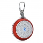 BoLan BL-LY03 Outdoor Sport 4.0-CH Bluetooth V4.0 Handsfree Speaker w/ Microphone / TF - White + Red