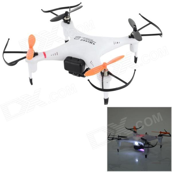 IA 8957V Remote Control Quadcopter R/C Aircraft w/ 0.3MP Camera + 6-Axis Gyro - White + Red