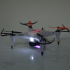 IA 8957 Remote Control Quadcopter R/C Aircraft w/ 0.3MP Camera + 6-Axis Gyro - White + Red