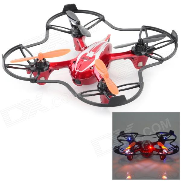 IA 8953 Remote Control Quadcopter R/C Aircraft w/ 0.3MP Camera + 6-Axis Gyro - Black + Red
