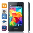 "L300 Android 4.4 WCDMA Smart Phone w/ 3.5"" Capacitive, Wi-Fi, FM, GPS, Bluetooth - Black"