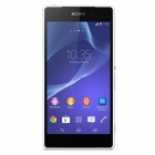 "Sony Xperia Z2 L50W Unicom 3G Quad-Core Android 4.4 WCDMA Bar Phone w/ 5.2"" Screen - White"