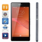 "Sony Xperia Z2 L50W Unicom 3G Quad-Core Android 4.4 WCDMA Bar Phone w/ 5.2"" Screen - Black"