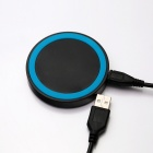 Q5 Universal Wireless Charging Transmitter for Cellphone - Blue + Black