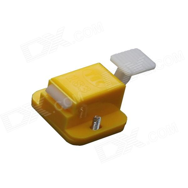 TAD-183 Test Fixture Lock Catches - Yellow (2 PCS) various styles of clamping degree 227kg 200kg 100kg horizontal clamp welding workpiece fixture galvanized iron tools