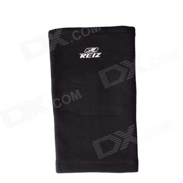 REIZ RZ703 Sports Elastic Knee Support Guard Protector - Black (L)