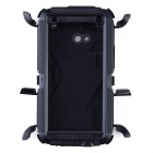 Redpepper Aluminum Alloy + Silicone Waterproof Shockproof Case for HTC One M7 - Black
