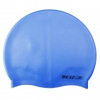 REIZ Y1102 Unisex Waterproof Silicone Swimming Cap - Blue