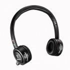 Bingle B-600 Wireless USB 2.0 Headband Style Headphone w/ Mic - Black