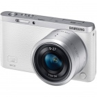 Genuine Samsung NX Mini  Interchangeable Lens Digital Camera w/ 9-27mm Lens - White
