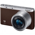 Genuine Samsung NX Mini Interchangeable Lens Digital Camera w/ 9-27mm Lens - Brown