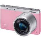 Genuine Samsung NX Mini Interchangeable Lens Digital Camera w/ 9-27mm Lens - Pink