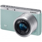 Genuine Samsung NX Mini  Interchangeable Lens Digital Camera with 9-27mm Lens - Green