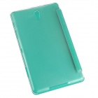 ENKAY ENK-7081 3-Folding PU + Plastic Flip Open Case for Samsung Galaxy Tab S 8.4 T700 - Green