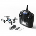 SJ017 360 graders Eversion 2,4 GHz 4-kanals 6-akse Gyro R/C UFO Quadcopter fly med Guard sirkler