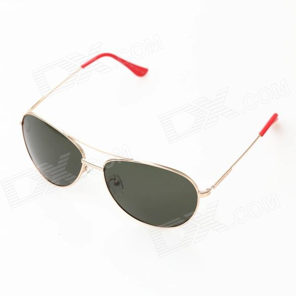 OREKA OR969 Driving UV400 Protection High-nickel Alloy Frame Resin Lens Polarized Sunglasses clip on uv400 protection resin lens attachment sunglasses small