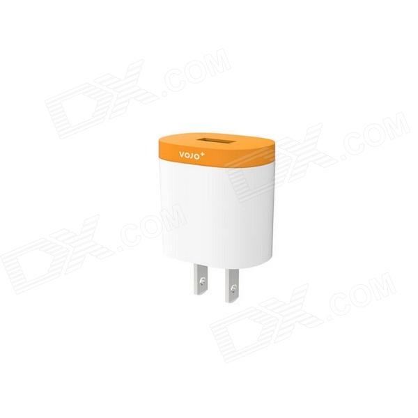 Vojo Dot US Plug 5V 1200mAh Power Adapter Charger - Orange (1110~245V)