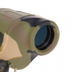 7X Magnification 32mm High Definition Binocular Telescope - Camouflage + Green