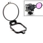 PANNOVO 58mm Underwater Color-Correction Diving Filter Converter Ring for Gopro Hero 3 - Black