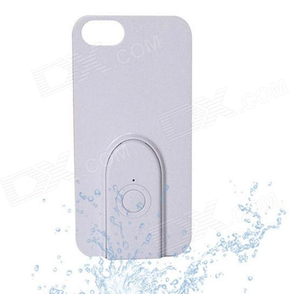 Stylish Protective Frosted ABS Back Case w/ Bluetooth V3.0 Remote Shutter for IPHONE5 / 5S