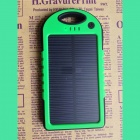 Universal Waterproof + Shockproof + Dustproof 4000mA Solar Powered Li-ion Battery Power Bank