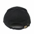 Fashionable Four Seasons Casual Cotton Cap - Black