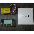 HJ 3-Axis Gyro KBAR V2 5.3.4PRO K8 Flybarless Stabilization System Setup Card / iCard - Yellow